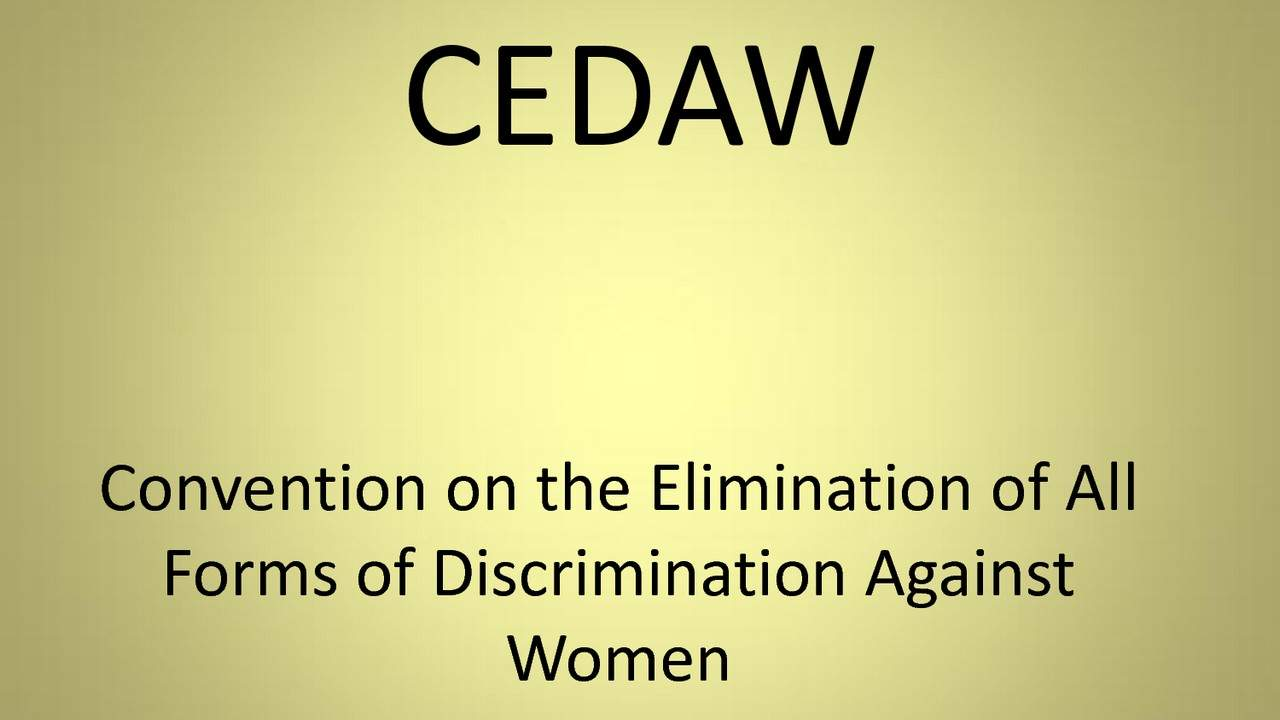 an essay on discrimination against women